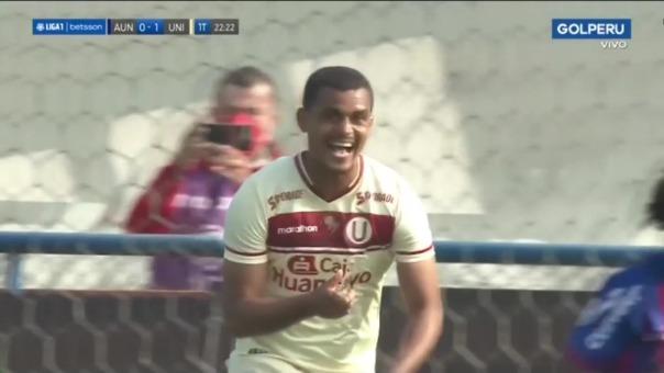 Así fue el gol de Nelinho Quina en el Universitario 1-0 Alianza Universidad