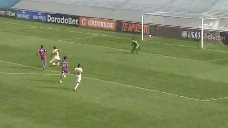 Este fue el 1-0 de Alex Valera contra Alianza Universidad.