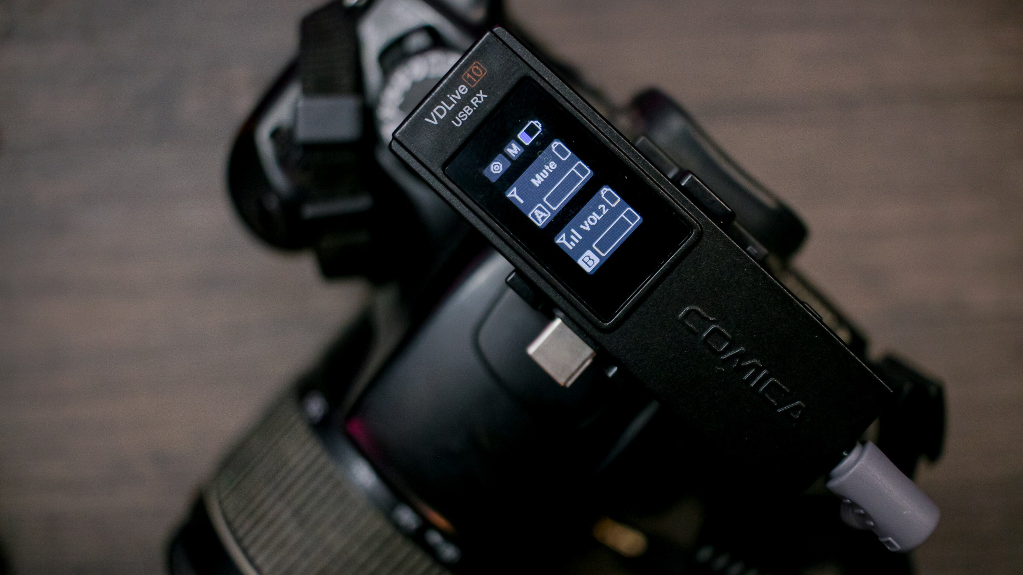 VIDEO: Así usamos al COMICA VD LIVE 10 USB con una Canon 70D