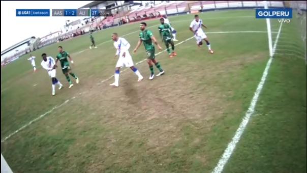 Así fue el gol de Juan Barreda de Alianza Atlético vs Alianza Lima