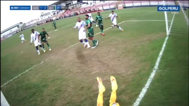 Así fue el gol de Juan Barreda