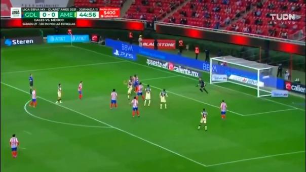 El último encuentro del América vs Chivas en Guard1anes 2021 