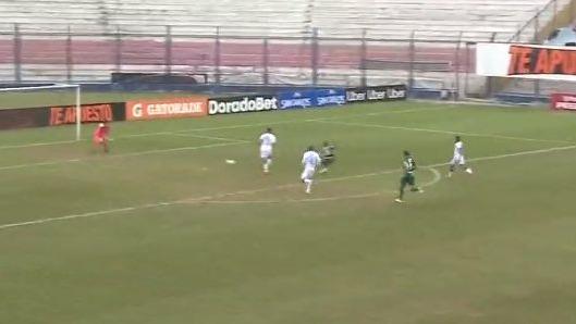 Este fue el buen gol de Wilmer Aguirre para Alianza Lima.