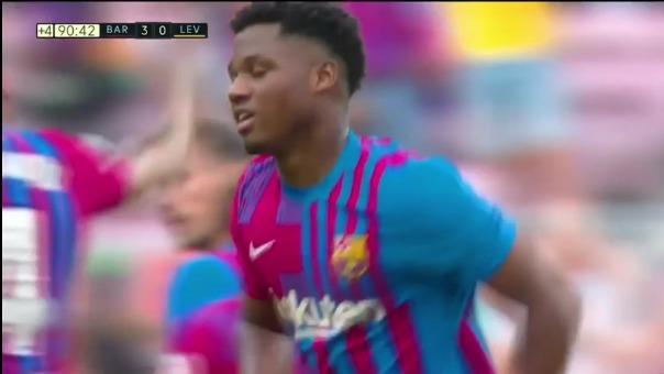 Así fue el gol de Ansu Fati