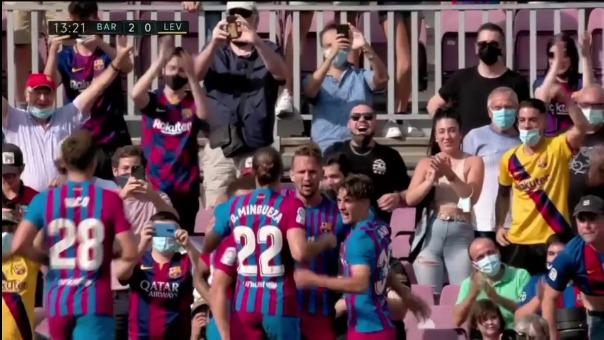Así fue el gol de Luuk de Jong.