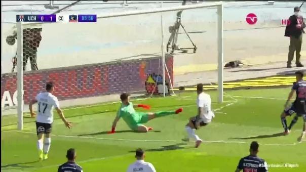 Así fue el gol de Marcos Bolados