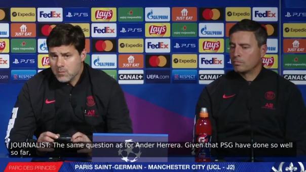 La palabra de Pochettino previo al PSG vs Manchester City