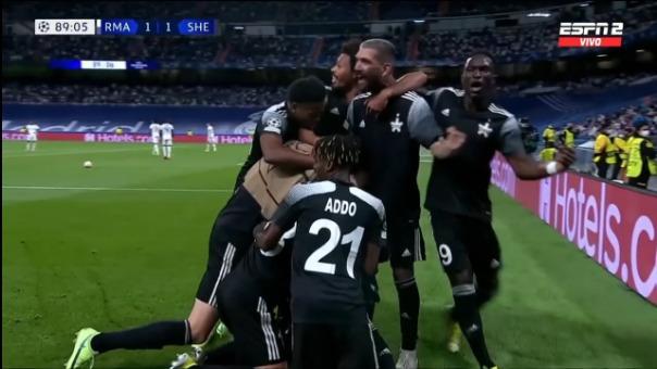 Así fue el gol de Sebastien Thill en el Sheriff 2-1 Real Madrid