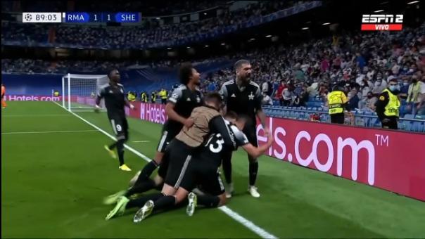Así fue el gol de Sebastien Thill del Sheriff ante Real Madrid