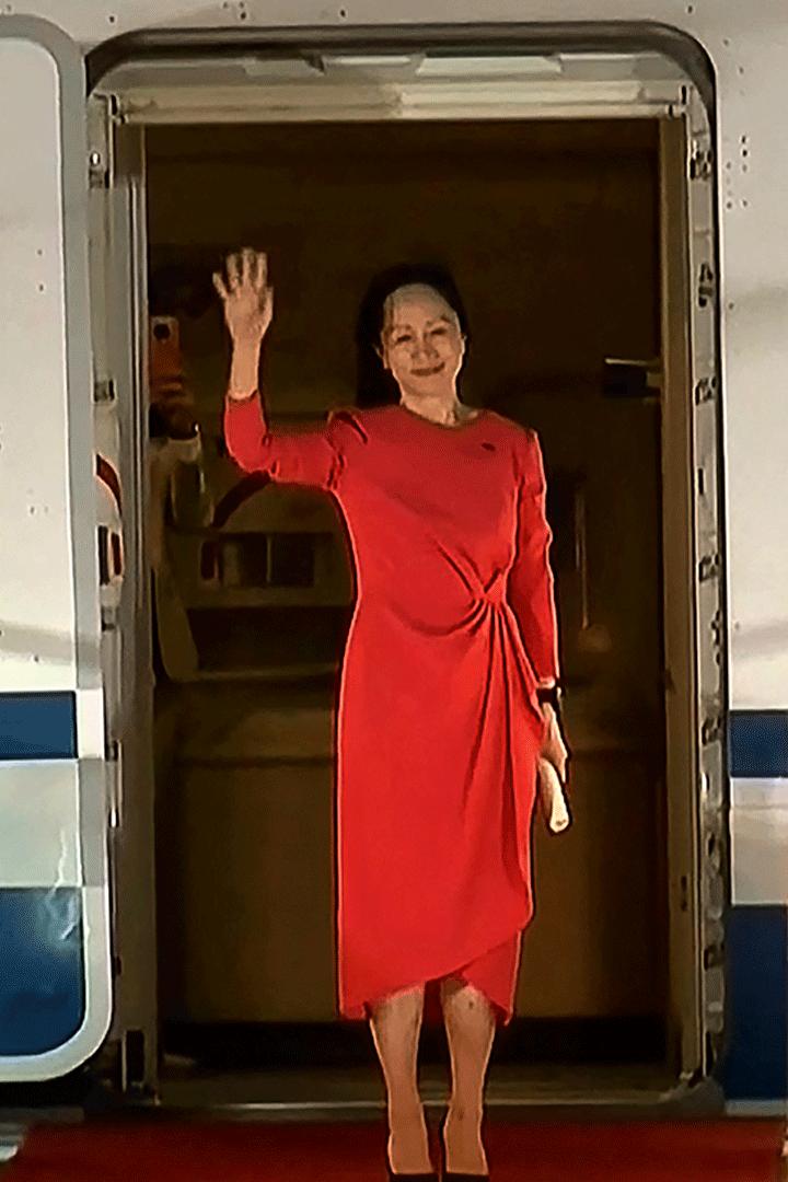 Huawei: Meng Wanzhou fue recibida como heroína en China