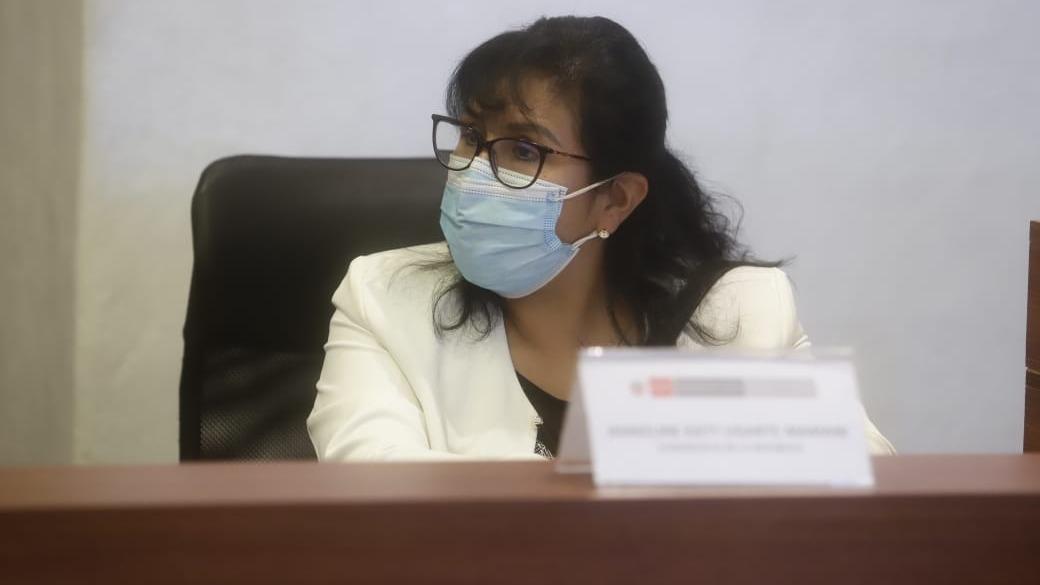 Congresista Katy Ugarte fue declarada reo contumaz