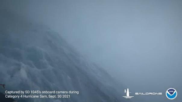 Imágenes captadas por la cámara del drone SD 1045.