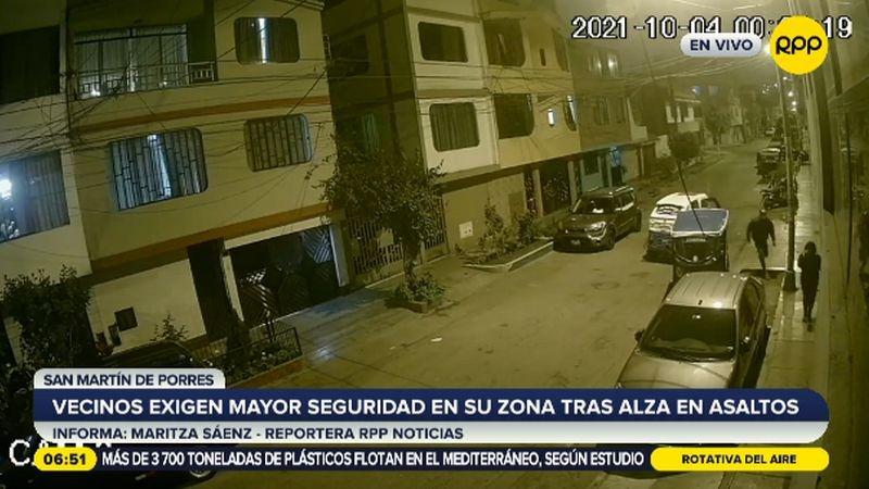 El ataque ocurrió en la cuadra 4 de la calle Turin, en la urbanización Fiori.