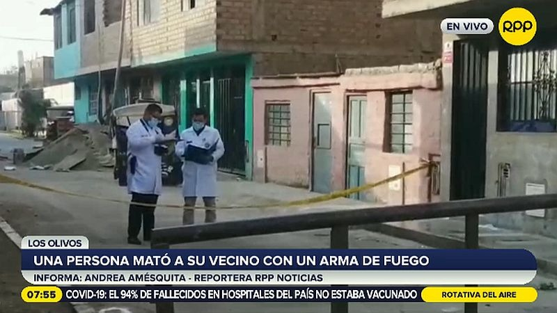 El crimen ocurrió en el asentamiento humano Enrique Milla Ochoa.