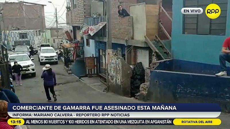 El crimen ha consternado a los vecinos de la avenida El Agustino.