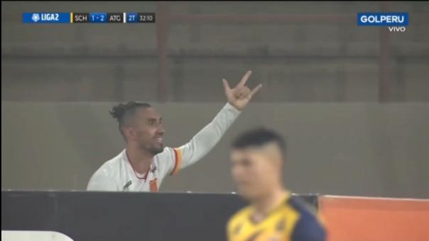 Así fue el gol de Delio Ojeda de Atlético Grau ante Sport Chavelines