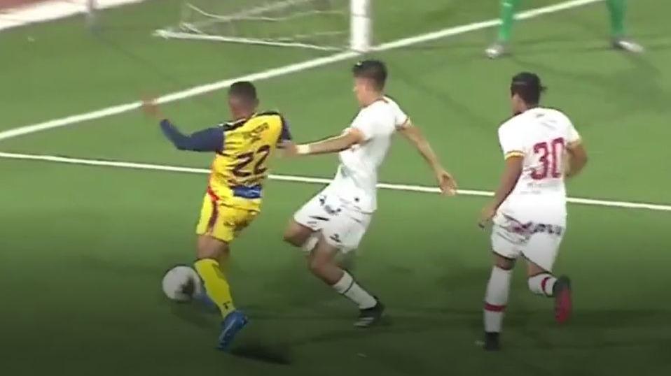 El parcial 1-1 de Sport Chavelines ante Atlético Grau.