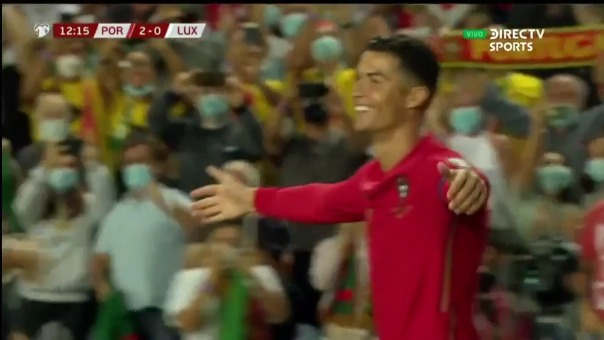 Doblete de Cristiano Ronaldo sobre Luxemburgo por las Eliminatorias