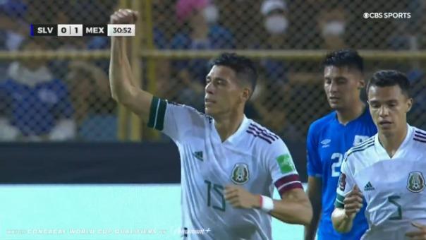 Así fue el gol de Héctor Moreno de México ante El Salvador