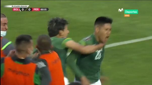 Bolivia venció a Perú en La Paz por la fecha 5 de las Eliminatorias