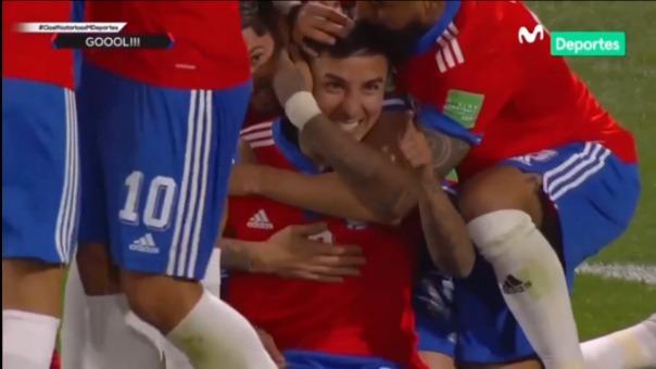 ASí fue el gol de Erick Pulgar en Chile 1-0 Venezuela
