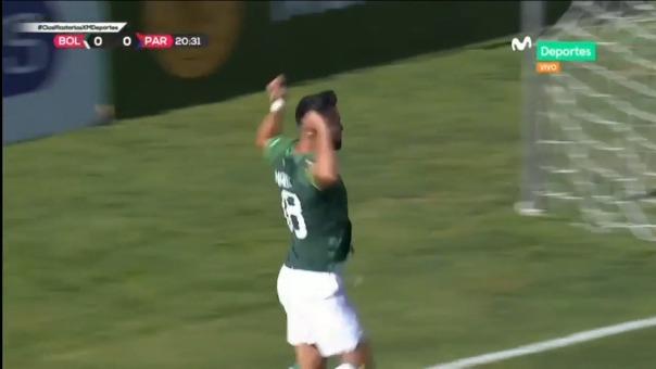 Rodrigo Ramallo anotó golazo para el 1-0 de Bolivia en La Paz