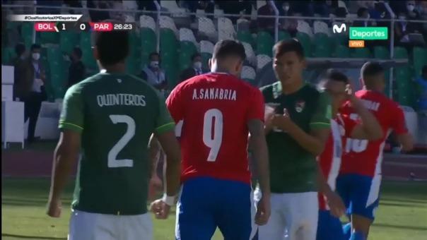 Antonio Sanabria desperdició un penal para Paraguay ante Bolivia