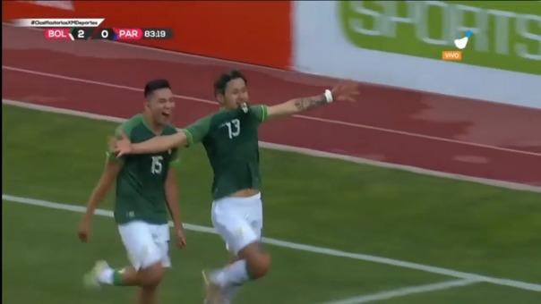Víctor Abrego anotó el 3-0 de Bolivia en La Paz