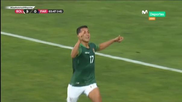 Roberto Fernández sentenció el 4-0 ante Paraguay