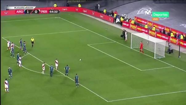 Yoshimar Yotún falló penal en el Perú vs Argentina por Eliminatorias