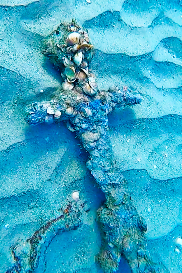 Israel: Un buzo encuentra una espada de hace 900 años en el fondo del mar Mediterráneo