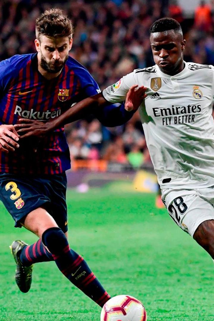 Barcelona vs. Real Madrid: los jugadores que debutarán en el clásico del fútbol español